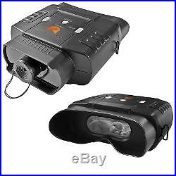 Nightfox 100V Digital Night Vision Infrared Binocular Zoom 3x20 Hunting Outdoors