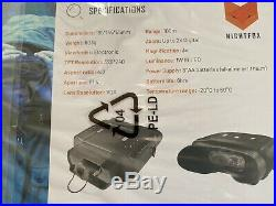 Nightfox 100V Widescreen Night Vision Infrared Binocular with 3x zoom- Sealed