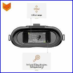 Nightfox 110R Widescreen Night Vision Binocular Digital Infrared 165yd Ra