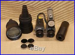 Nos Fjw Find-r-scope Infrared Stereo Binoculars Night Vision Telephoto Lenses