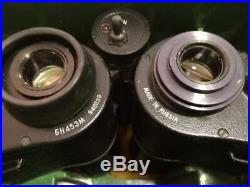 RARE Vintage Russian Night Vision BH453 Military Binoculars In Case
