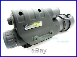 RG-88 Infrared Dark Night Vision IR Monocular Binoculars Telescopes 200 Yards
