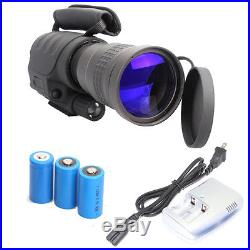 Rongland NV-760D+ 400M Night Vision IR Monocular Telescopes7x60+4GB SD