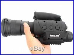 Rongland NV-760D+ Infrared Night Vision IR Monocular Telescopes 7x60 Hunting 4GB