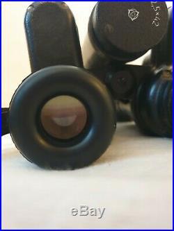 Russian Night Vision BINOCULARS BN 2.5 x 42 Work Great Vintage Military Spy