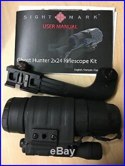 SIGHT MARK Ghost Hunter 2x24mm Night Vision Monocular SM14075