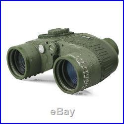 SV27 7x50 Military Waterproof Floating Marine Binoculars with Rangefinder& Compass