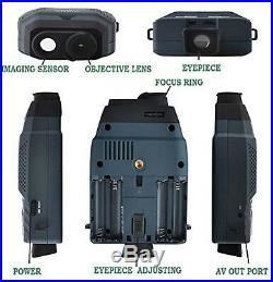 Solomark Night Vision Monocular Blue-infrared Illuminator Allows Viewing in t