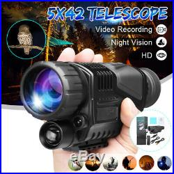 US 5X Zoom Night Vision Telescope Infrared Camera Video Monocular Camp Hunting