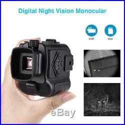 Ultra Small 8GB 5X Digital Infrared Night Vision Monocular 200M Scope Binocular