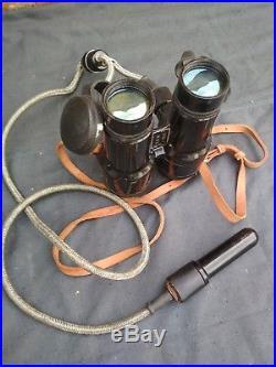 Vintage Military USSR Soviet Marine Night Vision Binoculars