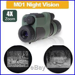 Visore notturno IR infrarosso scope Night Vision Monocular Binocular Infrared