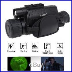 WG-37 5X40 Digital IR Night Vision Monocular 200m Range Take Photo Video DVR New