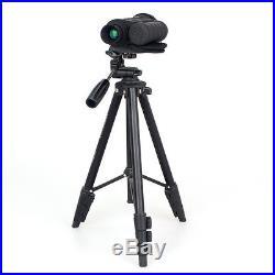 WG-50 6x50 IR Monocular Infrared Night Vision Telescope 350M+Free Yunteng Tripod