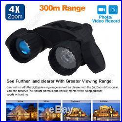 WG-80 Night Vision Sight Binocular Still&Video Capture Digital 4X50 DVR Recorder