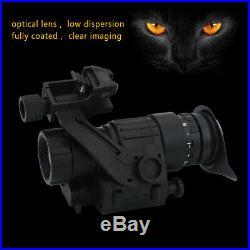 Waterproof Infrared IR Monocular 100M Night Vision Telescope Device for Helmet