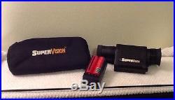 Xenonics SuperVision Night Vision Menocular SV 100 New Batteries