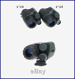 YUKON 1x24 Head Mount Night Vision Monoculars NVMT Spartan Tactical Telescope
