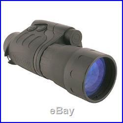 Yukon Advanced Optics Night Vision Scope Exelon 3x50/4x50 Monocular Waterproof